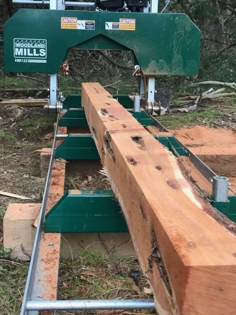 Timber Framing with Juniper in Timber Framing/Log construction