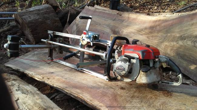 Stihl 090 Chainsaw Milling - Granberg - First Post in Chainsaws