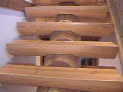 Custom Stair Components.