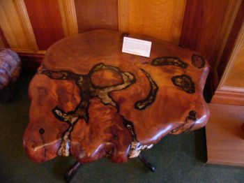 Off On Holiday Now With Pics - This amazing resin table is made using 50000 year old wood