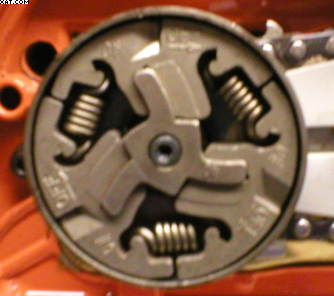 Clutch spring replacement in Chainsaws
